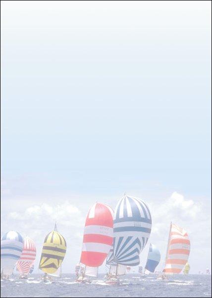 barevné archy Jachty, 50ks