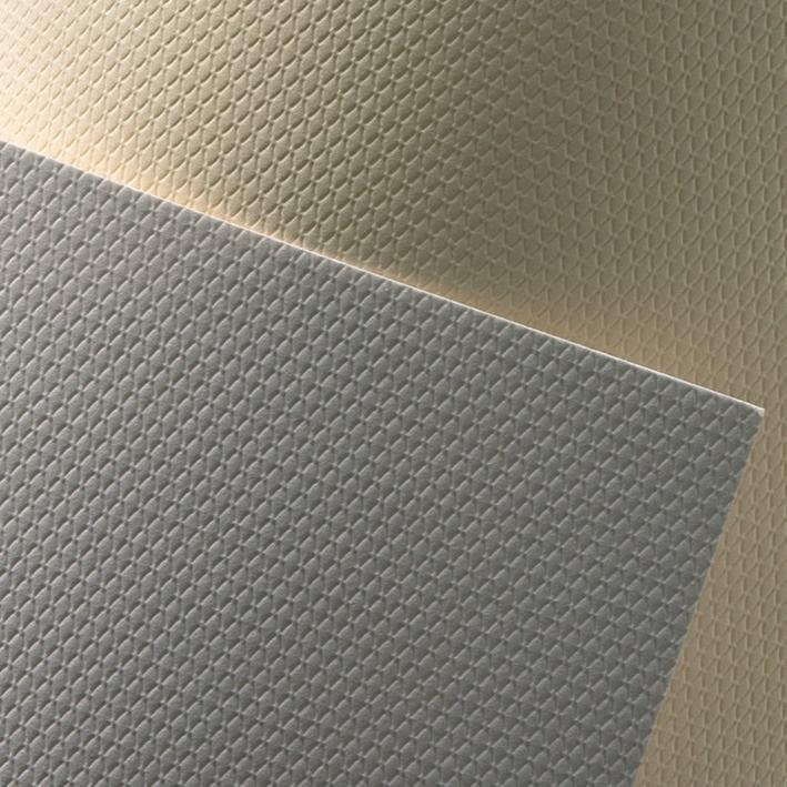 ozdobný papír Křišťál bílá 230g, 20ks