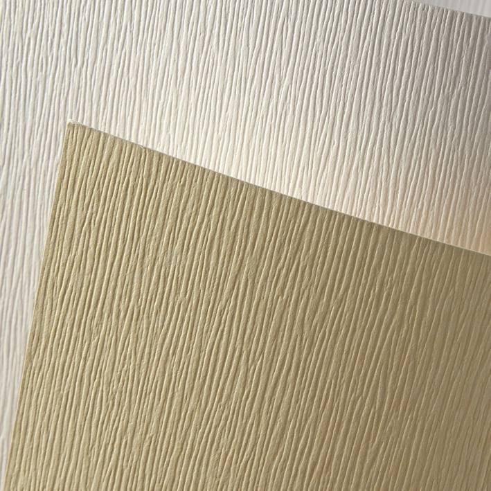 ozdobný papír Kůra bílá 230g, 20ks