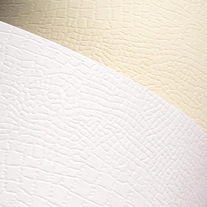 Galeria Papieru ozdobný papír Borneo bílá 220g, 20ks