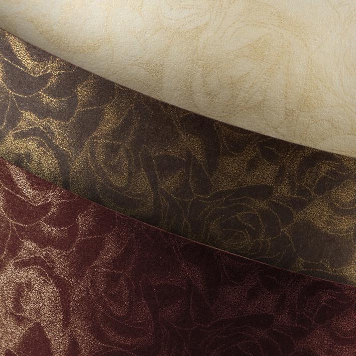 Galeria Papieru ozdobný papír Růže čokoláda 250g, 20ks