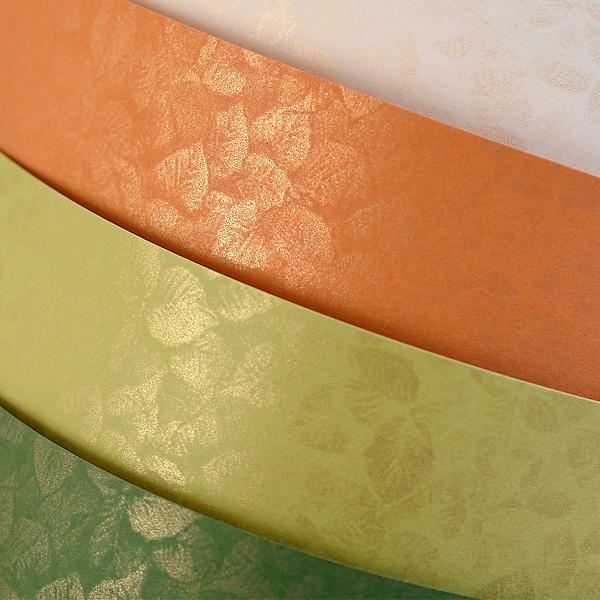 Galeria Papieru ozdobný papír Listy olivová 250g, 20ks