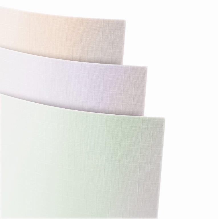 Galeria Papieru ozdobný papír Plátno Perleťově zelená 230g, 20ks