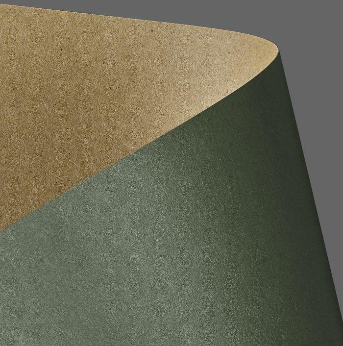 Galeria Papieru kraftový papír KRAFT zelená 275g, 20ks