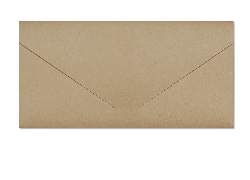 obálky DL Nature SP/kapsa tmavě béžová 220g, 5ks