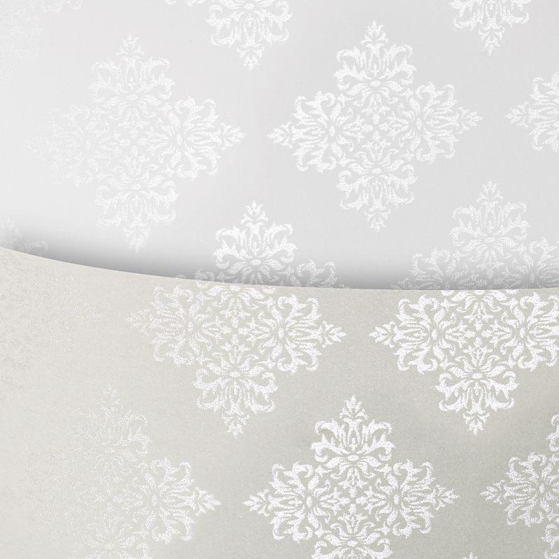 Galeria Papieru ozdobný papír Glamour šedá 230g, 20ks
