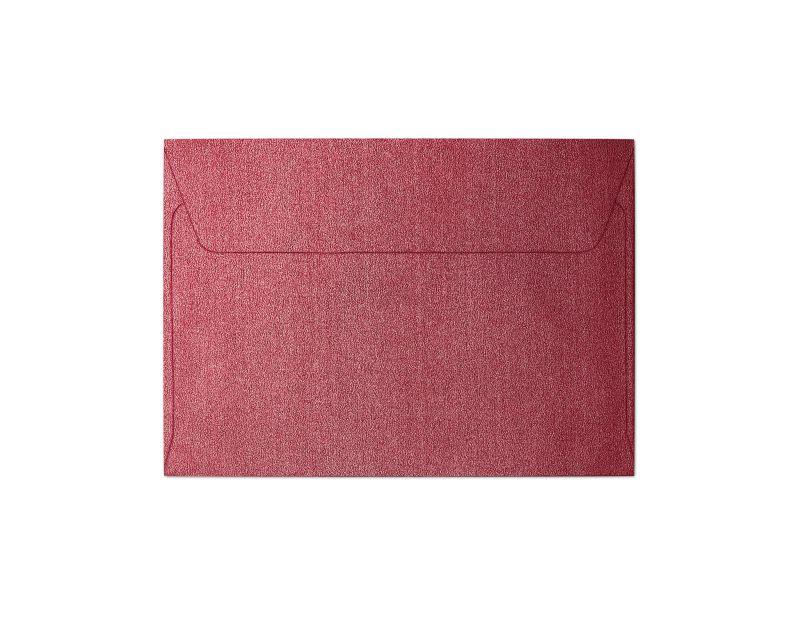 Galeria Papieru obálky C6 Pearl červená 120g, 10ks