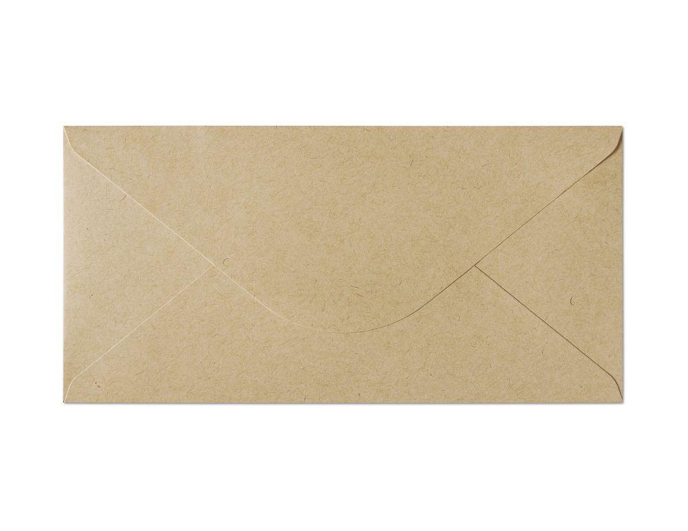 Galeria Papieru obálky DL Nature tmavě béžová 120g, 10ks