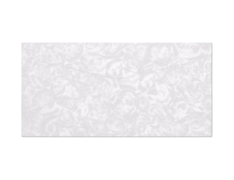 Galeria Papieru obálky DL Růže bílá 120g, 10ks