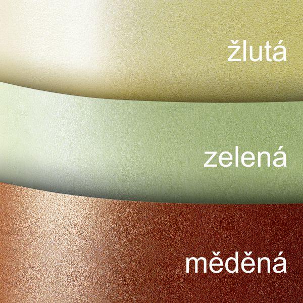 Galeria Papieru ozdobný papír Millenium zelená 220g, 20ks