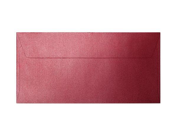 Galeria Papieru obálky DL Pearl červená 120g, 10ks