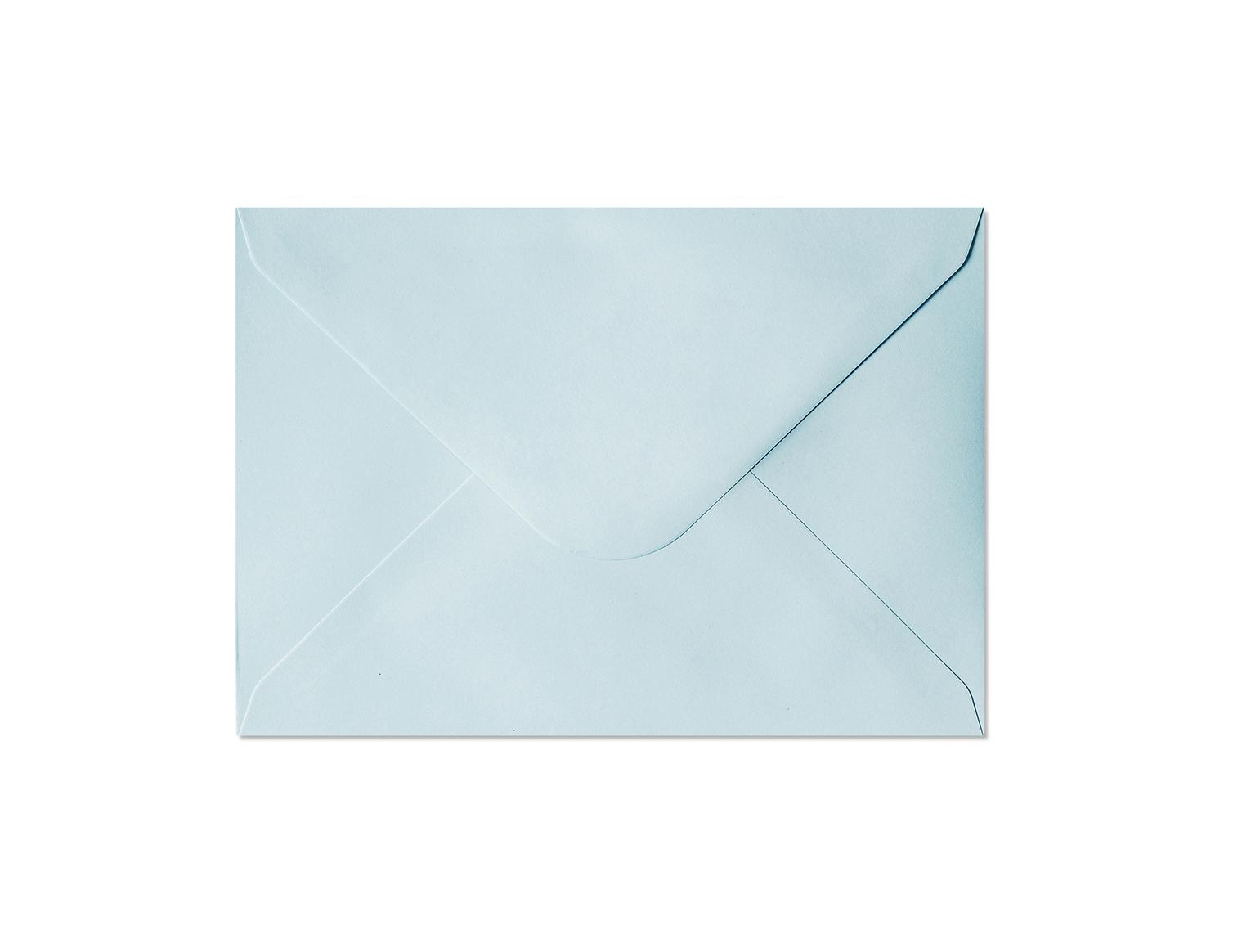 Galeria Papieru obálky C6 Hladký modrá 130g, 10ks