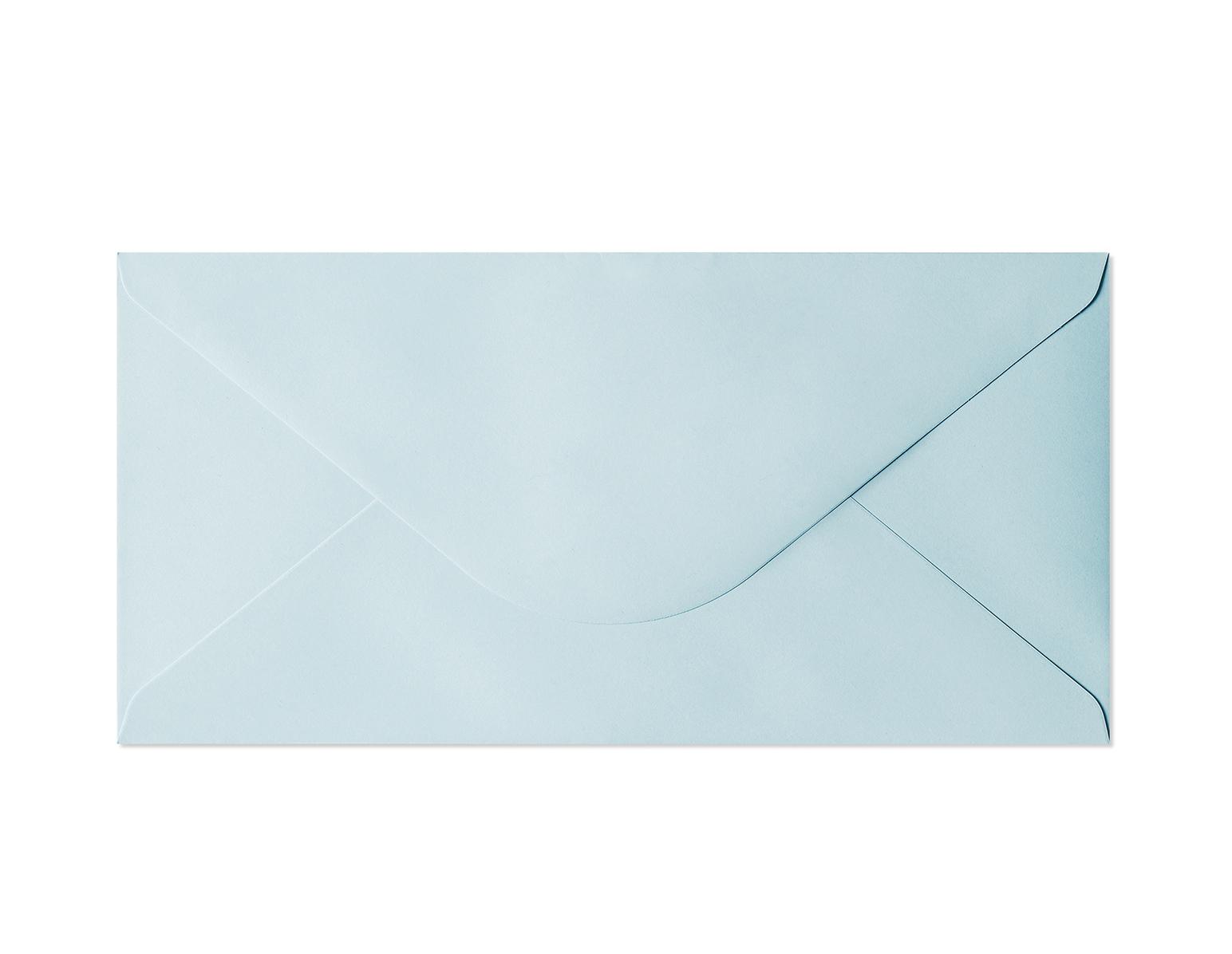 Galeria Papieru obálky DL Hladký modrá 130g, 10ks