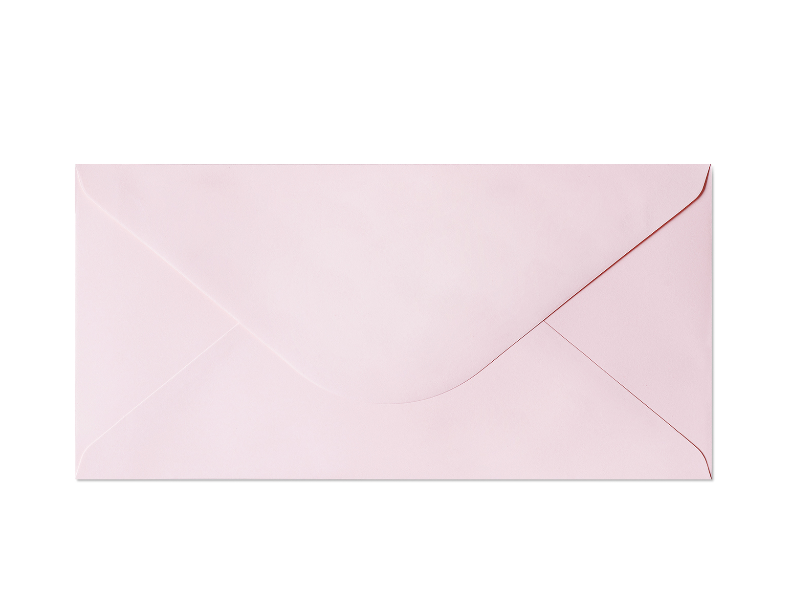Galeria Papieru obálky DL Hladký růžová 130g, 10ks