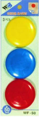 sada magnetů WF mix průměr 50mm, 3ks