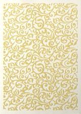 Galeria Papieru ozdobný papír Flock tmavě béžová 220g, 5ks