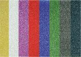 Galeria Papieru třpytivá fólie samolepicí mix barev 150g 10ks
